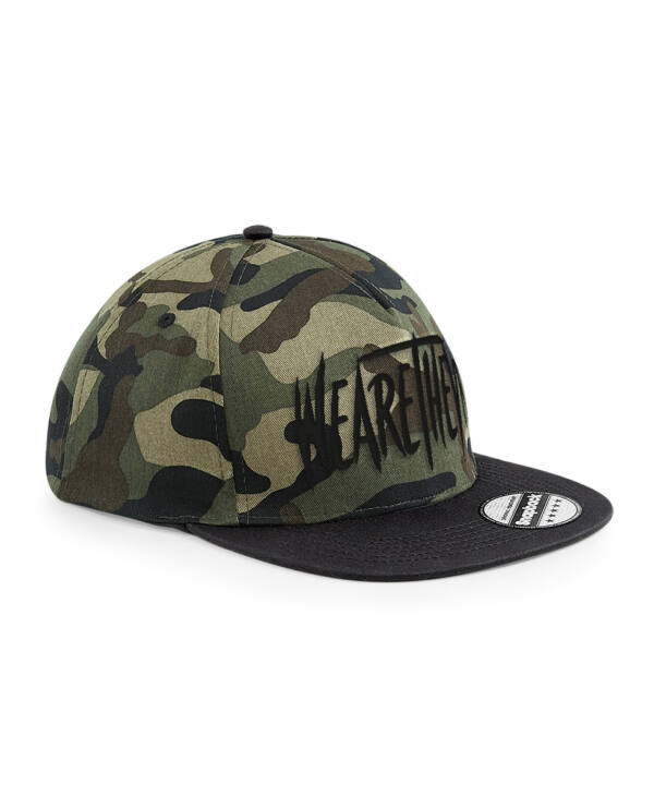 "TheVR WeAreTheVR ""Jungle"" camo snapback"