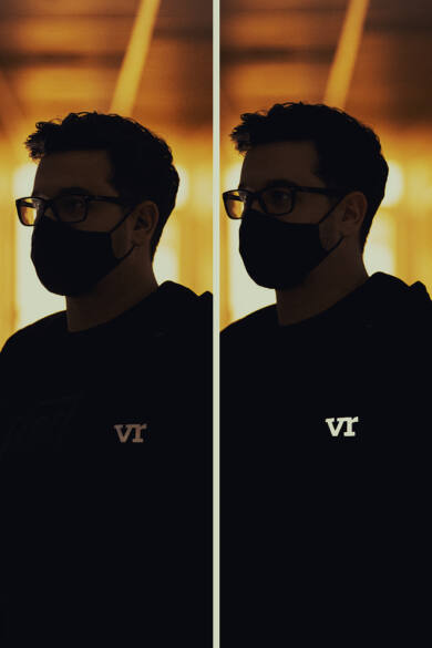WeAreTheVR Stealth cipzáros pulóver (Reflective)