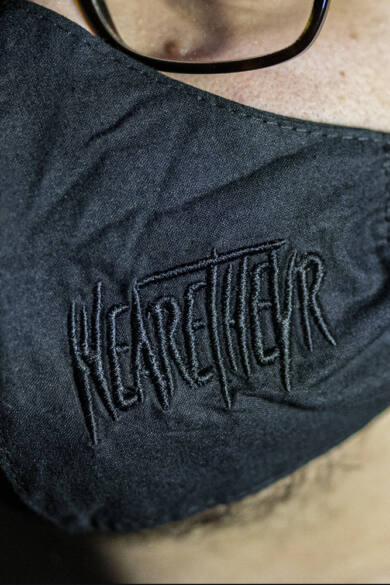 WeAreTheVR Stealth textil arcmaszk